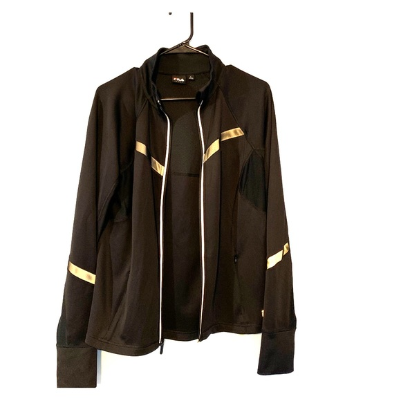 Fila Jackets & Blazers - FILA Reflective Zip-Up